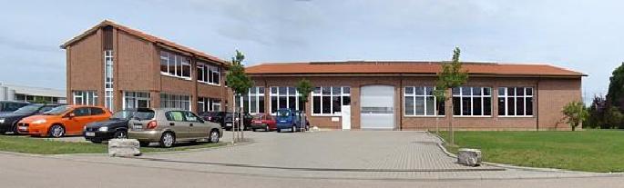 Neubau einer Produktionshalle mit einem Sozialtrakt in Ilshofen